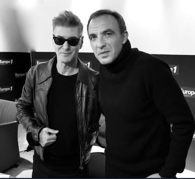 Etienne Daho et Nikos Aliagas