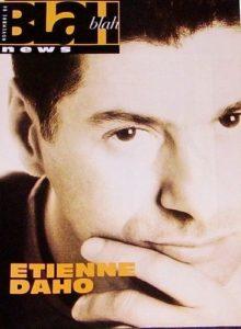 Etienne Daho fait la couverture du numéro de novembre 1996 du magazine Blah Blah.