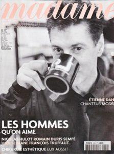 Etienne Daho couverture Madame Figaro 22 octobre 2004