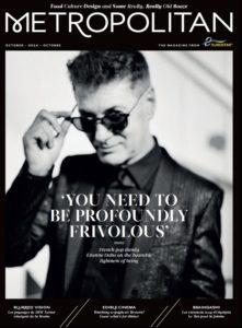 Etienne Daho en couverture magazine Eurostar octobre 2014