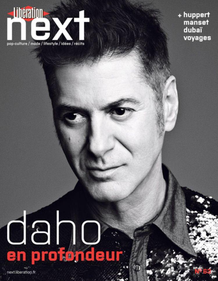 Etienne Daho en couverture Next liberation
