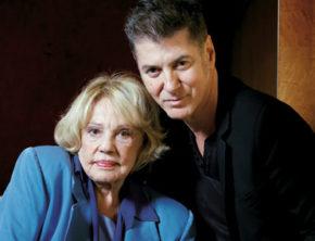 Etienne Daho et Jeanne Moreau