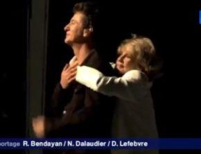 Etienne Daho et Jeanne Moreau au Festival d'Avignon