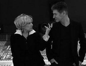 Etienne et Jeanne Moreau enregistrement du Condamné à mort