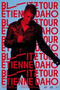 Etienne Daho - affiche de la tournée Blitztour
