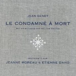 La pochette de l'album Le condamné à mort en version édition toilée