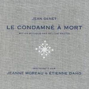 La pochette de l'album Le condamné à mort en version édition toilée