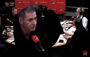 Etienne Daho en interview dans les studios de France Inter