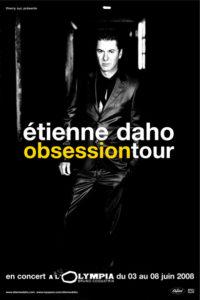 Etienne Daho affiche obsession tour
