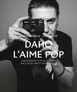 """affiche de l'exposition """"Daho l'aime pop"""" à la Philharmonie de Paris"""