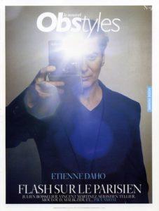 Etienne Daho en couverture du magazine Obstyles avril 2008
