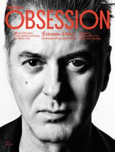 Etienne Daho en couverture revue Obsession Le Nouvel Obs