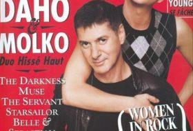 etienne daho couverture Rollingstone octobre 2003