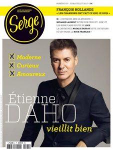 Etienne Daho en couverture magazine Serge