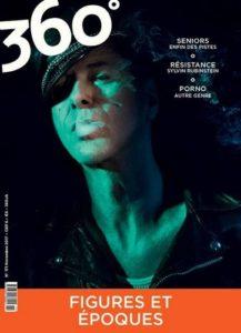 Etienne Daho fait la couverture du magazine 360° en novembre 2017