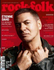 Etienne Daho fait la couverture du magazine Rock et Folk en décembre 2017
