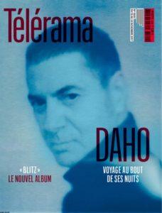 Etienne Daho fait la couverture du magazine Telerema en novembre 2017